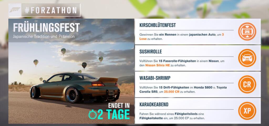 Forzathon für KW 12 2017