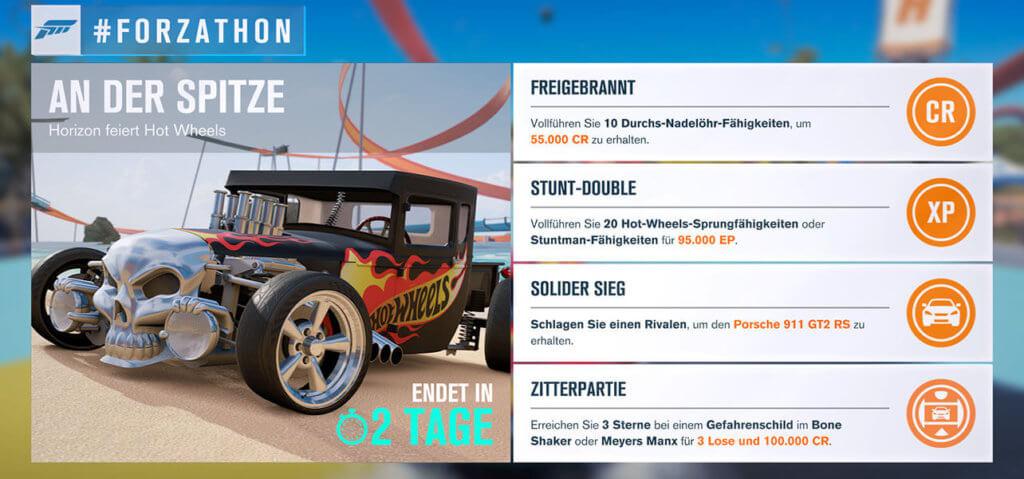 Forzathon für KW 19 2017