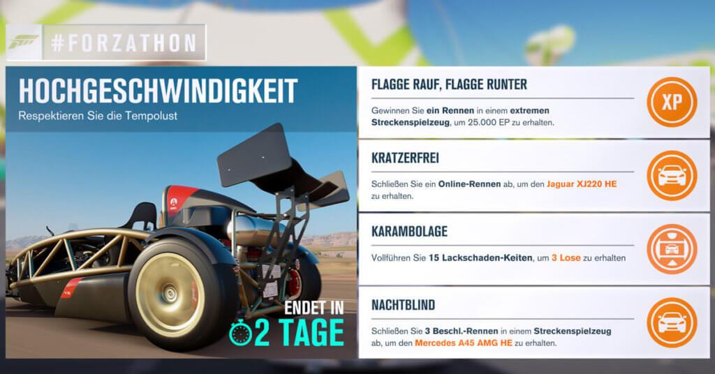 Forzathon für KW 9 2017