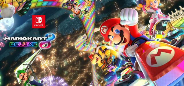 Mario Kart 8 Deluxe Teaser